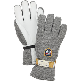 Hestra Windstopper Tour Guantes 5 Dedos, natural grey